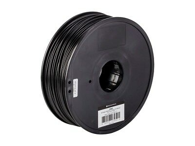 Monoprice MP Select ABS Plus+ Premium 3D Filament, 1kg 3mm, Black