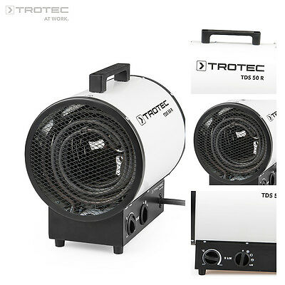 TROTEC TDS 50 R Electric Heater Industrial Cylinder Warehouse Fan Heaters 9 kw