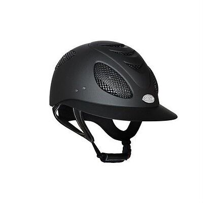 GPA First Lady 2X Series Riding Helmet - BLACK - Different Sizes - NEW DESIGN!