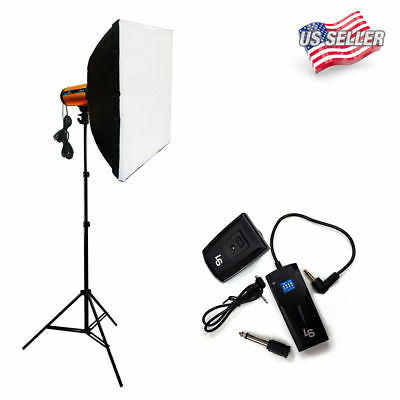 【US】LUSANA 300W Photography Studio Strobe Photo Flash Light Softbox Kit