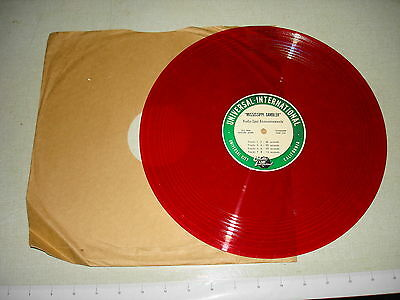 1953 RADIO SPOT ANNOUNCEMENTS 33 RPM Record MISSISSIPPI GAMBLER Tyrone Power