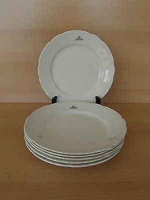 6 assiettes plates ROYAL BOCH Rangoon