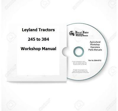 Leyland 255 270 384 and other middleweights Workshop  Manual Digital