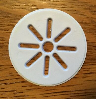 Wilton Cookie Press Plate Disc Replacement Part - Flower