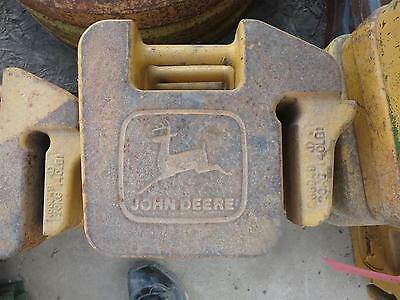 Stamped John Deere Suitcase Weights For Compact Tractors & Skid Steers Jdsslsc-1