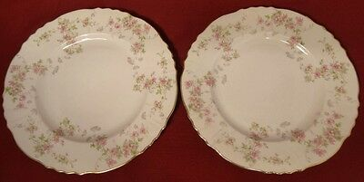 "Syracuse China Federal Shape STANSBURY 10"" Luncheon Plates 2 - USA"