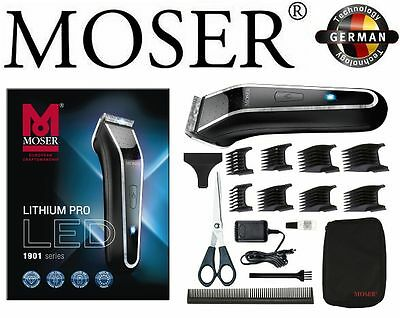 Moser Lithium Pro Net Battery Hair Cutting Machine With Led Display 1Mm - 25Mm