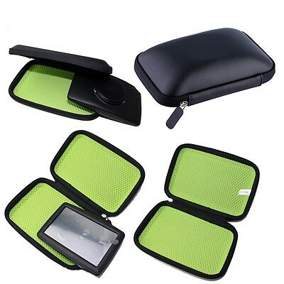Hard Carry Case Cover Car Sat Nav Holder For GPS TomTom Start Garmin FJAU