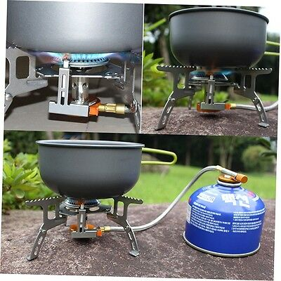Portable Split Type Gas Stove Picnic Furnace Outdoor Camping Cooking FJAU