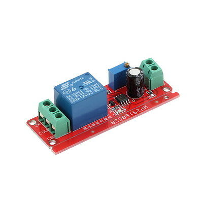 New 1pcs DC 12V Pull Delay Timer Switch Adjustable Module 0 to 10 Second FJAU