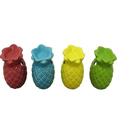 SiL Pineapple 4 Colours Tropical Ceramic Exotic Oil Burners