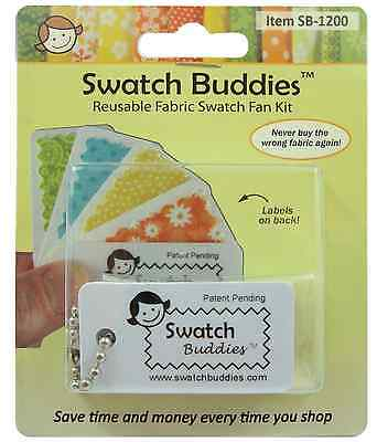 Swatch Buddies - Creat fabric Swatches in Seconds! 12 cards.