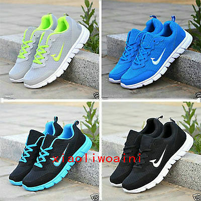 2016 Hot Mens And Boys, Sports Trainers Running Gym Sizes Uk5.5-11.5