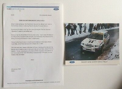 Ford Escort Cosworth Rs Release, Very Collectable Pr0236