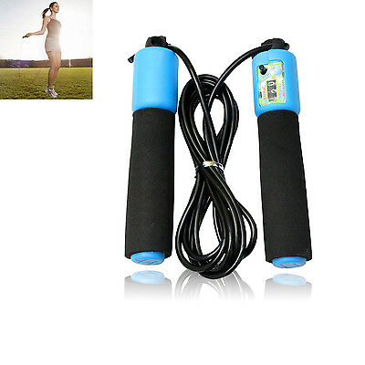 Adjustable Skipping Rope With Counter Fitness Boxing Jump Exercise For Adult Kid