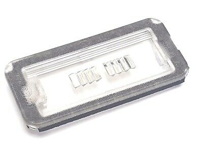 Fiat 500 & Abarth 500 Rear Number Plate Lamp Light Lens Cover 51800482 Genuine