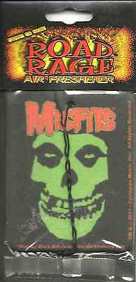 MISFITS classic fiend skull 2011 AIR FRESHENER official SEALED usa IMPORT