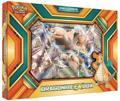 Pokemon Dragonite EX Collection Box New With Promo Card