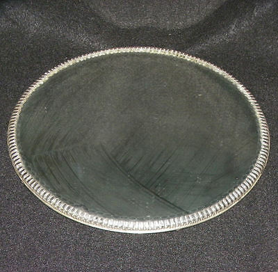 Antique Rope Twist Beveled Cut Edge Mirror Plateau