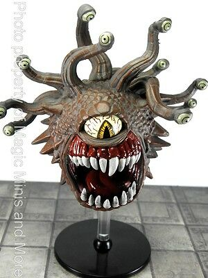 Rage Demons BEHOLDER #49 Icons of the Realms D&D large rare miniature Dungeons