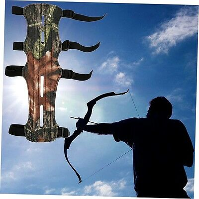 Camouflage Archer Armguard Arm Guard Protector Shooting Compound Bow FJAU