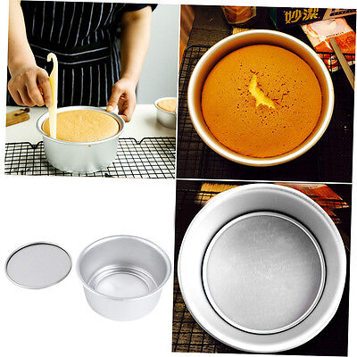 New 6inch Aluminum Alloy Non-stick Round Cake Bake Mould Pan Kitchen Tool FJAU