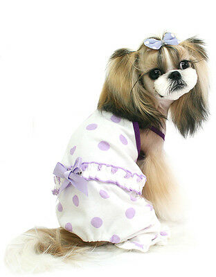 DOG PAJAMAS ,HOUSE SUIT for dogs SWEET BABY PURPLE dogszone