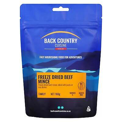 Back Country Cuisine Freeze Dried Food Beef Mince