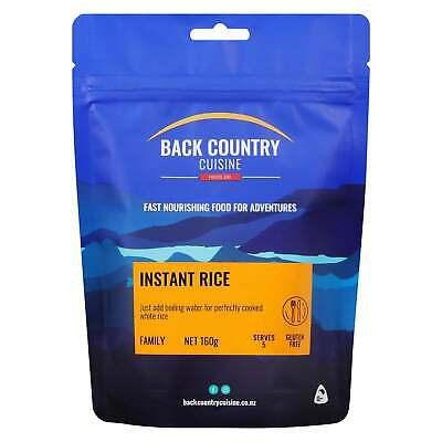 Back Country Cuisine Freeze Dried Food  Instant Rice