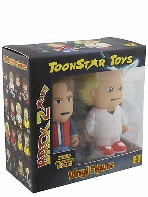 TOON STAR SET X 2  BACK TO THE FUTURE Mini MARTY MCFLY DOC BROWN toonstar