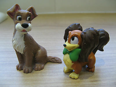 Lady And Tramp Figures Disney Stand Alone Toys ( Cake Toppers ? )