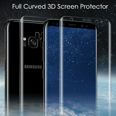 Thin Film 360 Full Curved PET Screen Protector For Samsung Galaxy S6 S7 Edge