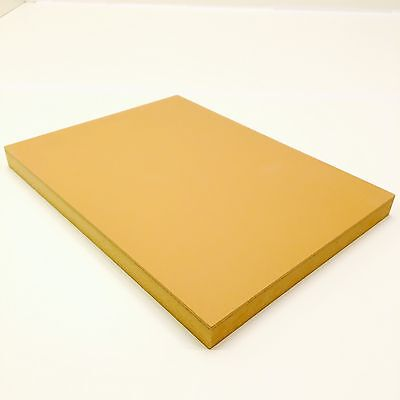 Speedball 410862 Linoleum Block 12 x 9 Smoky Tan Plate Mounted