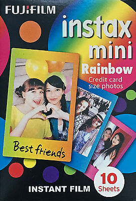 FUJIFILM INSTAX mini  RAINBOW  1 Film  für 10 Fotos