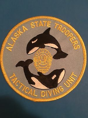 Alaska State Troopers Tactical Diving Unit Patch