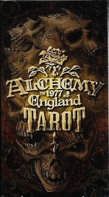 ALCHEMY 1977 ENGLAND TAROT Gothic Steampunk Deck Card Set tarot oracle cards