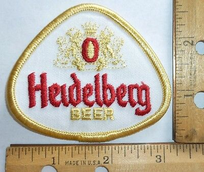 Heidelberg  Embroidered Cloth Beer Patch