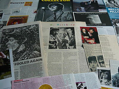 Donovan - Magazine Cuttings Collection (Ref T4)