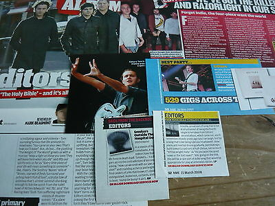 Editors - Magazine Cuttings Collection (Ref Z16)