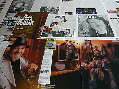 Dr John - Magazine Cuttings Collection (Ref X1A)