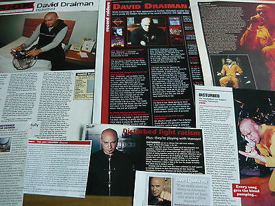 Disturbed - Magazine Cuttings Collection (Ref X1A)