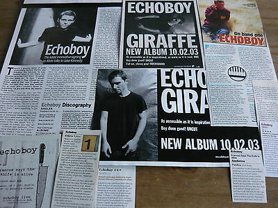 Echoboy - Magazine Cuttings Collection (Ref T4)