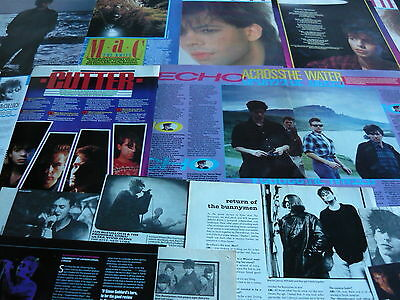 Echo & The Bunnymen - Magazine Cuttings Collection (Ref B)