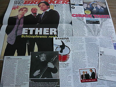 Ether - Magazine Cuttings Collection (Ref T4)