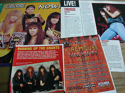 Firehouse - Magazine Cuttings Collection (Ref B1)