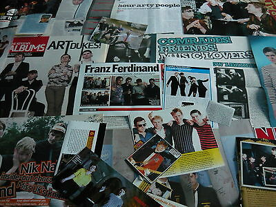 Franz Ferdinand - Magazine Cuttings Collection (Ref 2A)