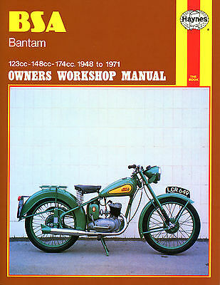 Haynes Manual 0117 - BSA Bantam (123cc, 148cc, 174cc) 1948-1971