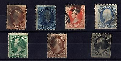 Stamps ~ UNITED STATES OF AMERICA USA 19th Century Used ~ #3