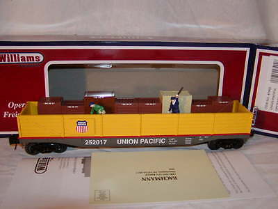 Williams Bachmann 47902 Union Pacific Operating Cop Robber Chase Car O 027 MIB