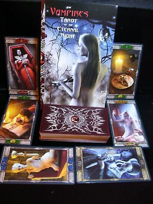 Sealed & Brand New! Vampires Of The Eternal Night Tarot Cards & Book Oracle